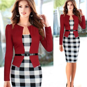 2015-new-women-spring-long-sleeve-red-plaid-stretchy-cute-elegant-party-casual-wear-to-work-jpg_350x350