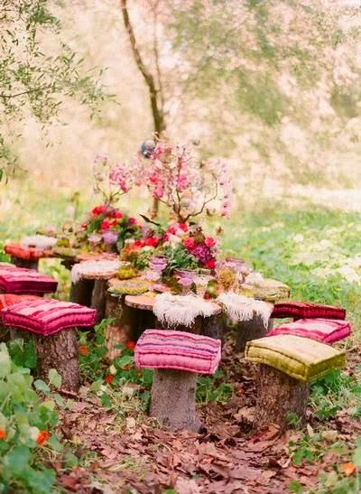 DIY- decoracao rustica casamento na floresta campo